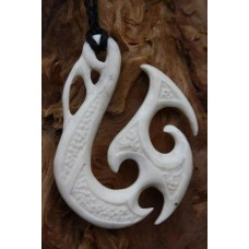 Hei Matau Maori styled fish hook