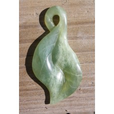 Himalayan Mountain Jade freeformGreenstone leaf